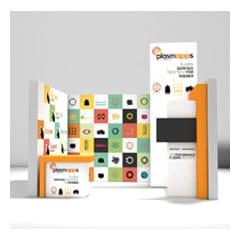 Plasmapps_Stand fieristico e materiale promozionale
