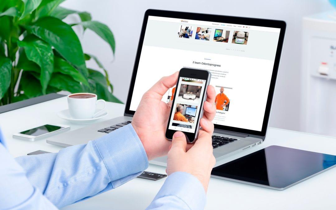 Odontoprogress – Sito web e immagine coordinata