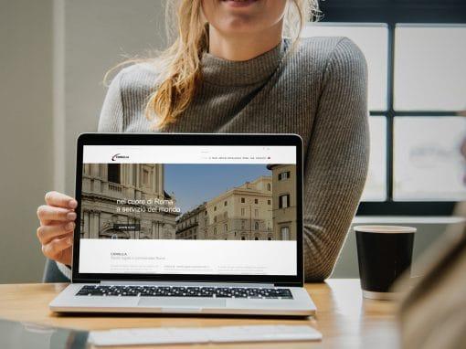 Consulia Studio Legale e Commerciale – Sito web