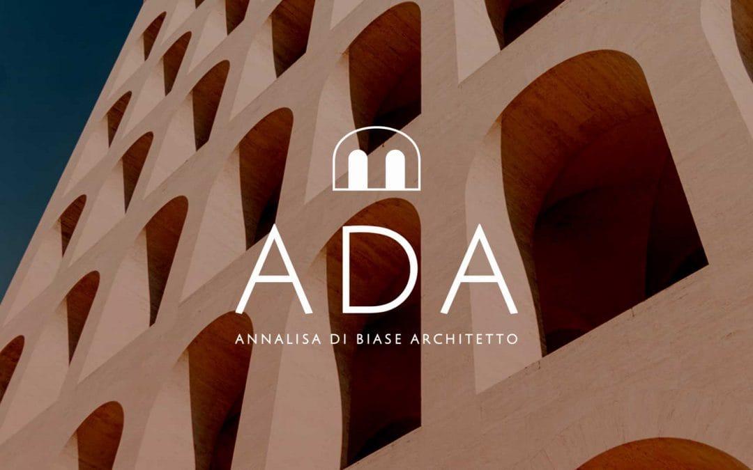 Logo design e brand image – ADA Architetto